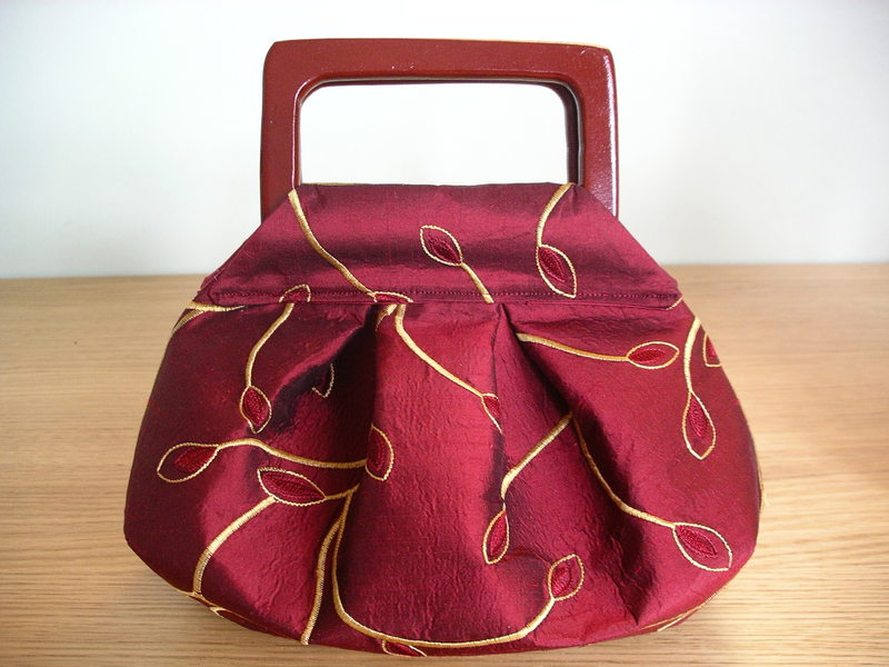 Top Come cucire borsa con manici rigidi - Tutorial WO09