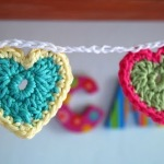 Come fare cuori a uncinetto – Tutorial