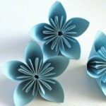 come fare fiore carta origami tutorial