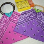 Tutorial Come fare borsa da riciclo bandana