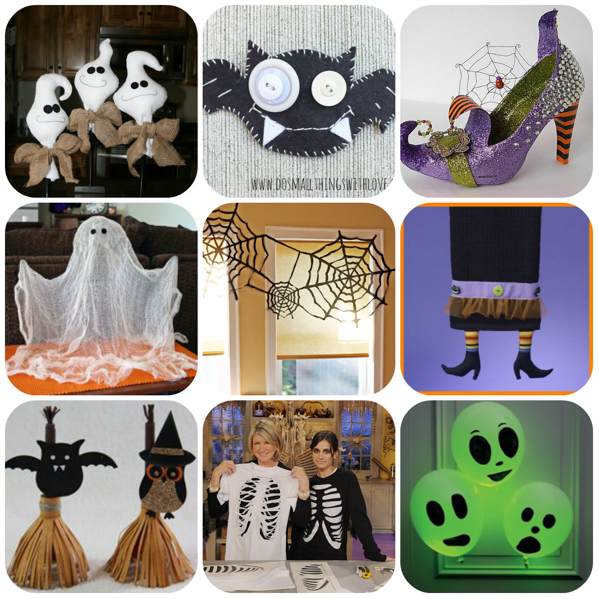 halloween cucito creativo tutorial gratuiti idee creative uncinetto riciclo creativo. Black Bedroom Furniture Sets. Home Design Ideas