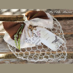 Cuore shabby chic in rete Tutorial in Italiano
