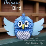Origami gufo Video Tutorial