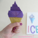 come fare origami gelato mini tutorial
