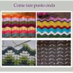 Come fare punto onda a uncinetto – Tutorial
