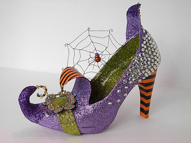 Tutorial come fare Scarpe da Strega per Halloween