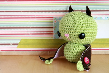 Tutorial come fare amigurumi pipistrello