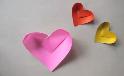 Come fare Cestino cuore origami Tutorial