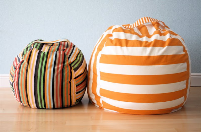 Come cucire un Pouf Tutorial e Cartamodello