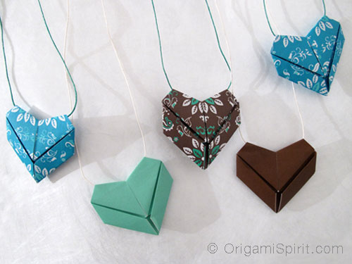 come fare cuore origami Video Tutorial