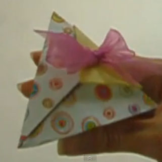 scatolina piramidale origami video tutorial