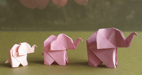 Come fare origami elefante Video Tutorial
