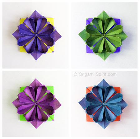 Origami Fiore Geometrico Video Tutorial
