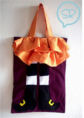 Borsa Portadolcetti Halloween Tutorial in Italiano