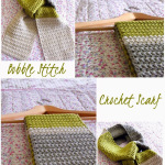 Come fare sciarpa a uncinetto con punto Bobble Stitch – Video Tutorial