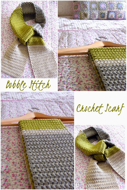 Come Fare Sciarpa A Uncinetto Con Punto Bobble Stitch Video Tutorial