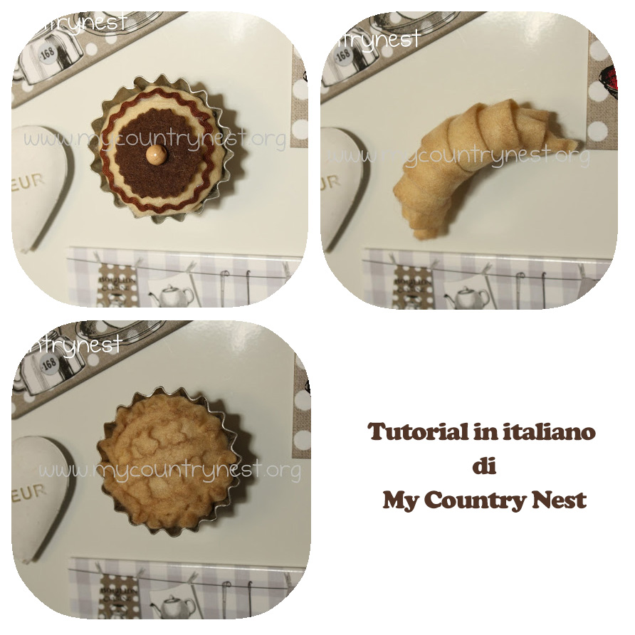 I Magneti In Pannolenci Di My Country Nest Tutorial In Italiano