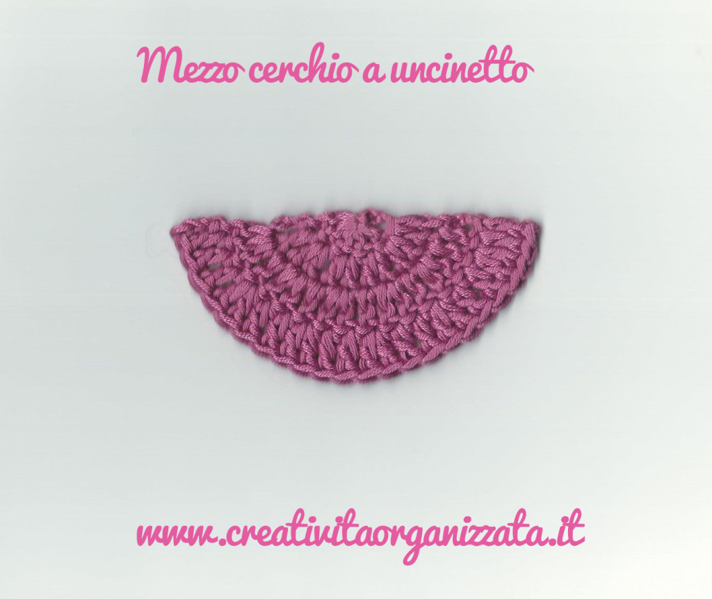 Semicerchio a Uncinetto Tutorial