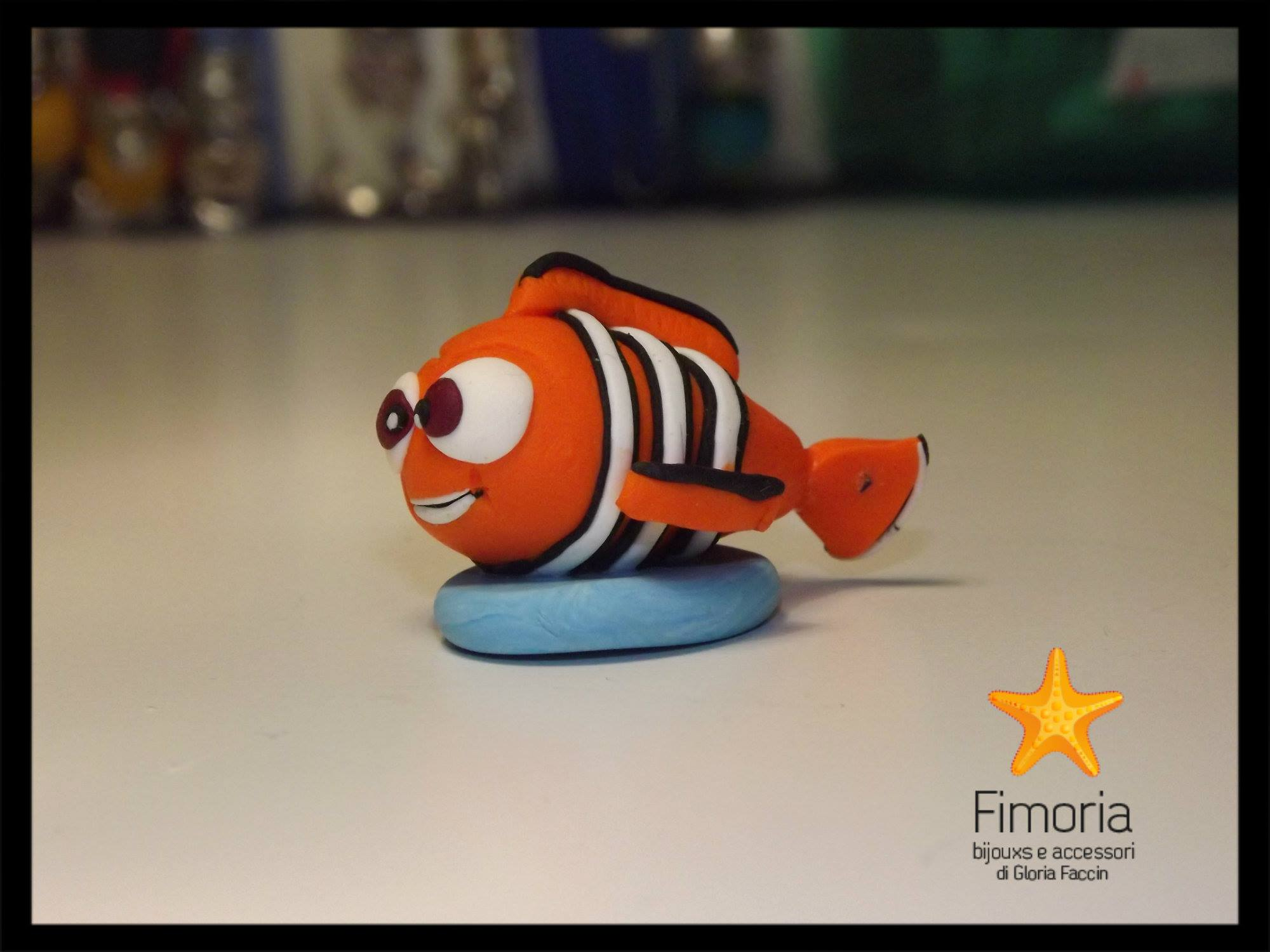 Come fare pesciolino Nemo in fimo – Video Tutorial