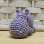 Ippopotamo amigurumi tutorial in italiano