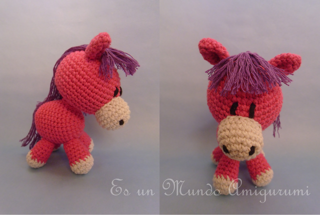 Free! - Donkey - English provided - Asino amigurumi | Hobby ... | 431x640