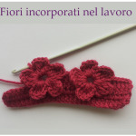 Punto a uncinetto con fiori – Video Tutorial