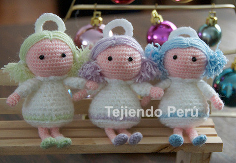 Come fare angioletto a uncinetto (amigurumi)- Video ...