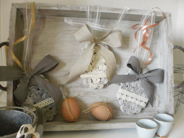 Tutorial decorazioni shabby chic per pasqua for Decorazioni shabby chic fai da te