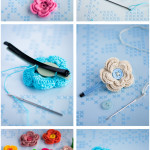 Mollettine con fiori a uncinetto – Tutorial