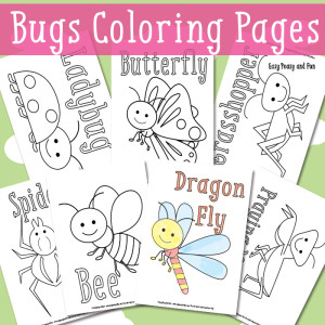 funny fly insects coloring pages - photo#33