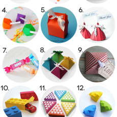 Paper Gift Box Free Template