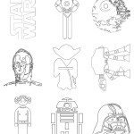 Star Wars disegni da colorare gratis.