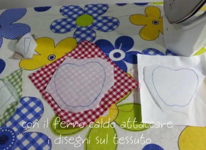 come si fa applique tutorial