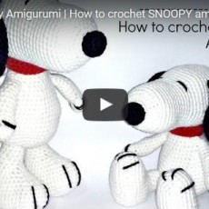 Schema per Snoopy Amigurumi – Video Tutorial