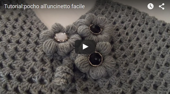 poncho a uncinetto facile tutorial