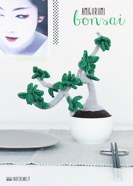 schema bonsai a uncinetto