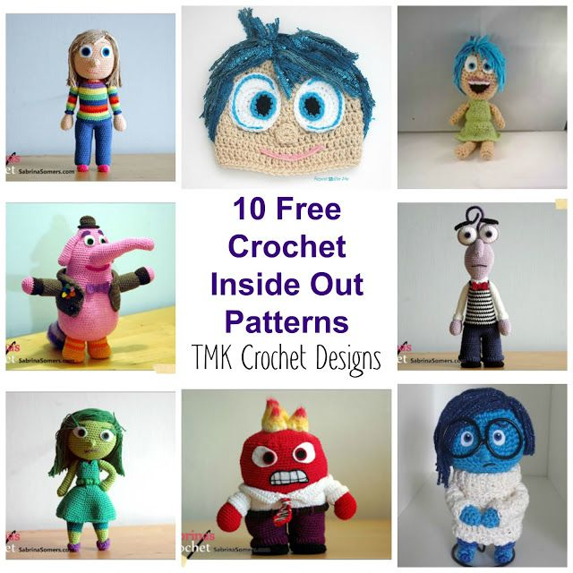 Amigurumi inside out