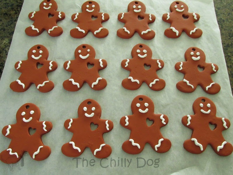 DIY gingerbread in fimo