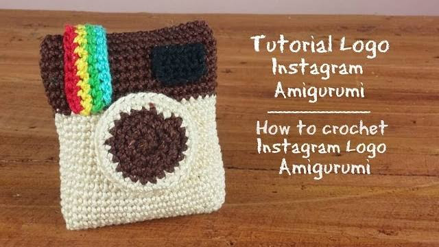 logo instagram amigurumi video tutorial