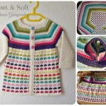 Come fare cardigan da bambina a uncinetto – Tutorial