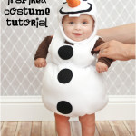 Tutorial costume da Olaf.