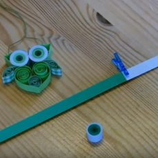 Gufetto quilling – Tutorial