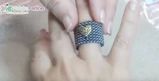anello con perline tutorial