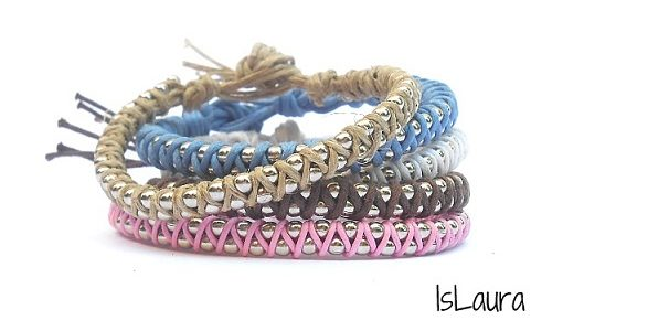 Come fare bracciali con catena a pallini – Tutorial.