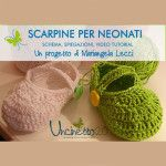 scarpine uncinetto schema mariangela lecci video tutorial