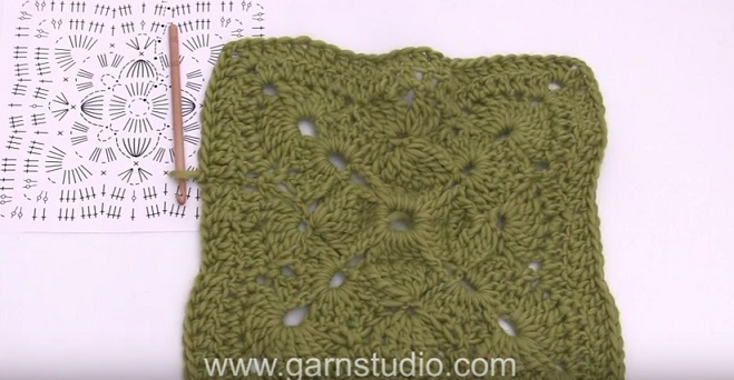 Mattonella uncinetto coperta video tutorial
