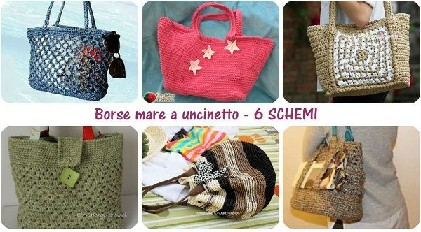 borsa mare uncinetto tutorial
