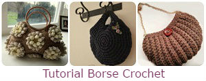tutorial borse crochet