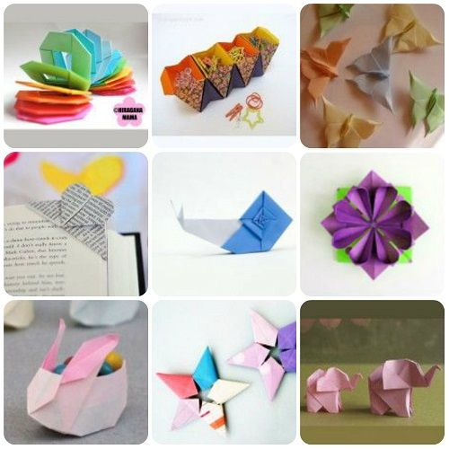 tutorial origami raccolta