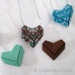 origami cuore facile tutorial